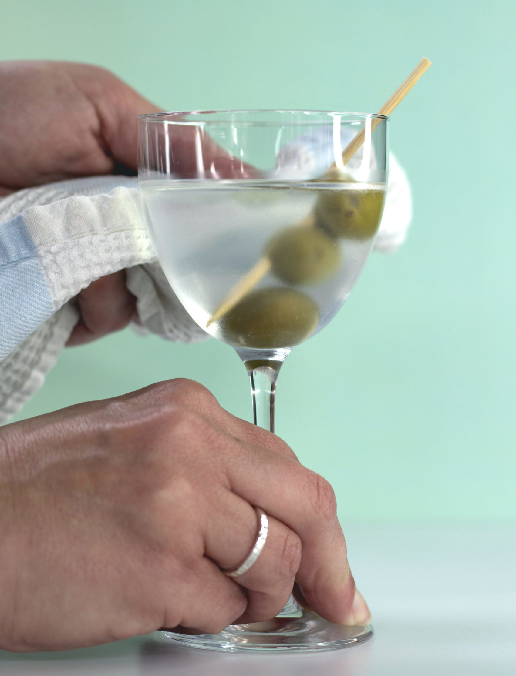 The Dirty Martini